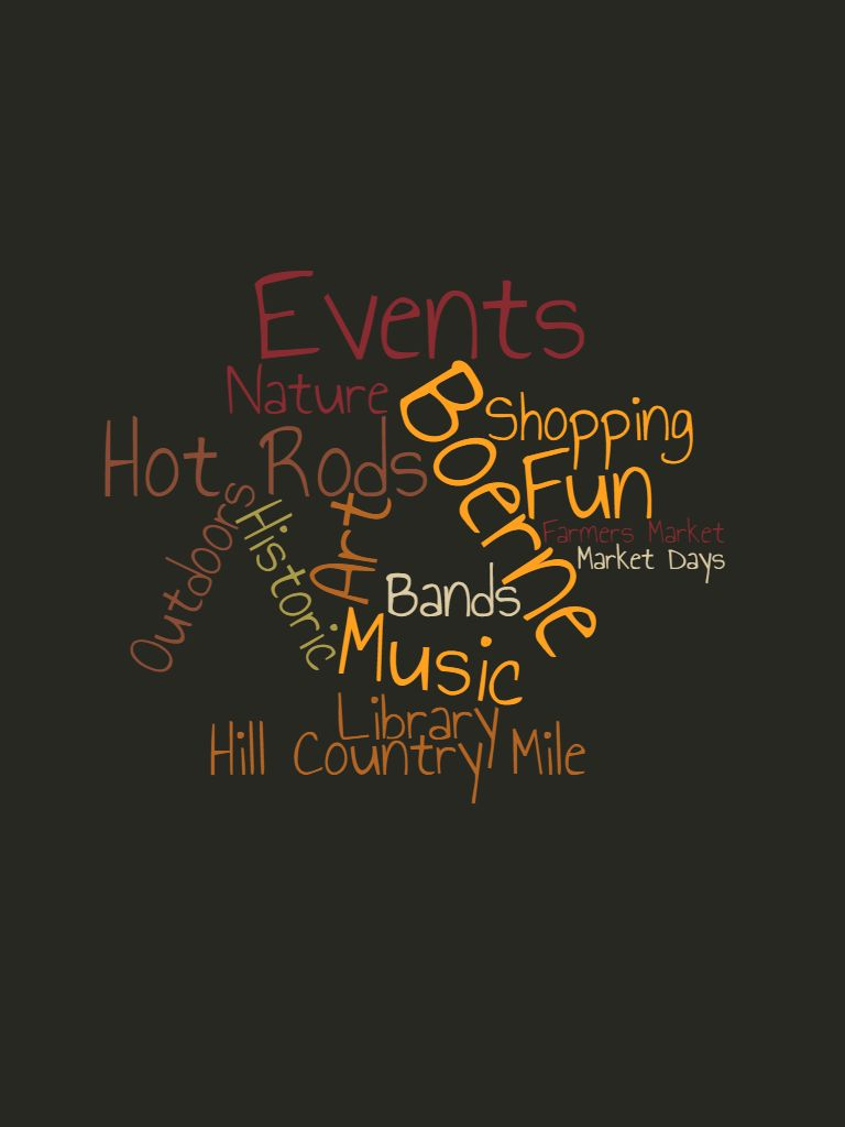 March 2021 Boerne Calendar Events